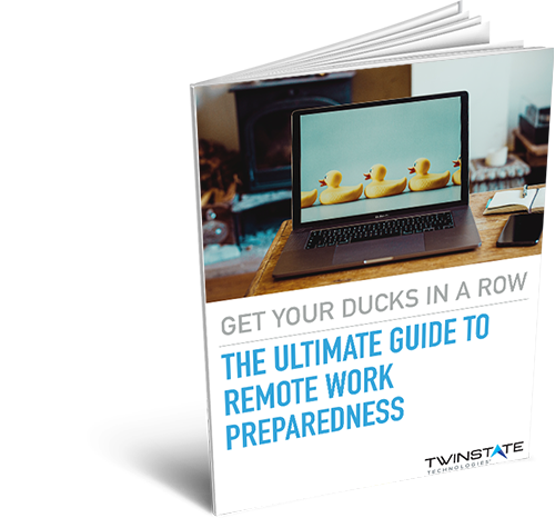 ebook cover _ Get Your Ducks in a Row - Remote Working