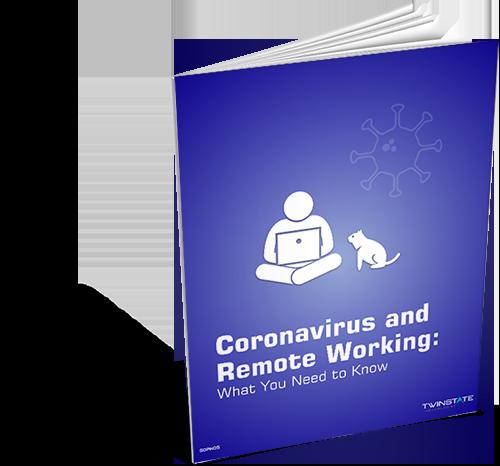 ebook cover: Coronavirus and Remote Working